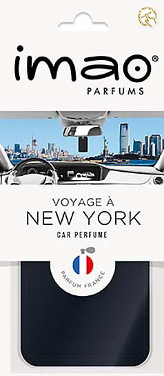 "imao CAR PERFUME ""NEW YORK"""
