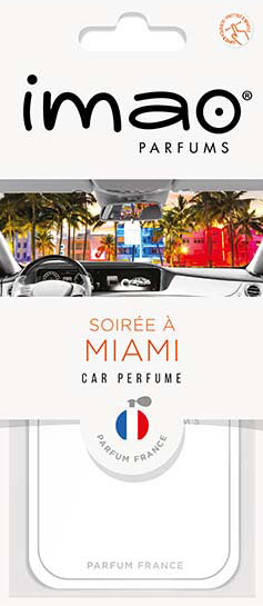 "imao CAR PERFUME ""MIAMI"""